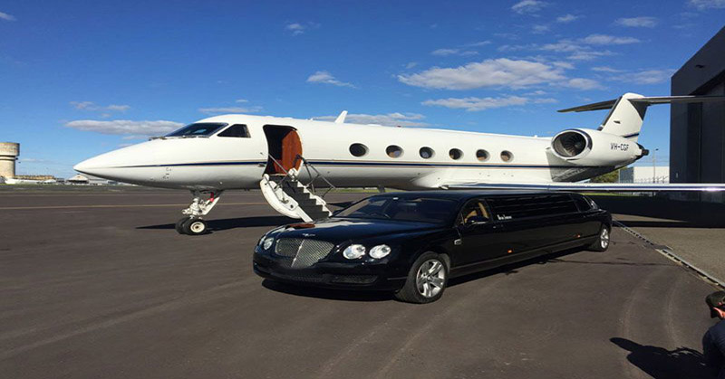 Limousine Airport services in Rockville Feel the convenience and luxury