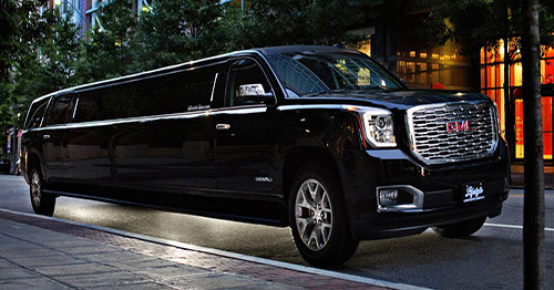 Limousines and transportation services for amusement and travelling